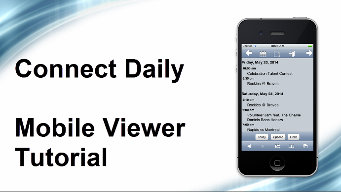 mobile viewer tutorial link.